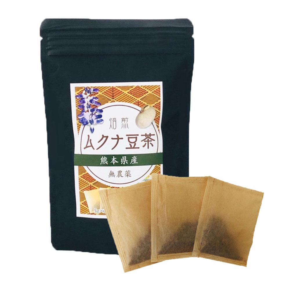 焙煎ムクナ豆茶(5g×20包、100g入)