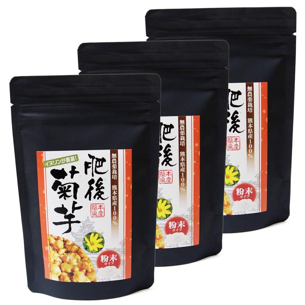 肥後菊芋 粉末タイプ(80g入×3袋)